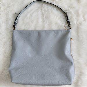 A New Day Grey Purse Shoulder Bag Pocketbook Gray